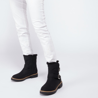 Lee Cooper High Top Boots with Zip Closure