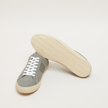 Lee Cooper Perforated Lace-Up Sneakers