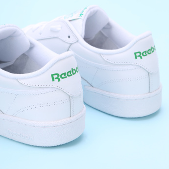 Reebok Stitch Detail Lace-Up Running Shoes