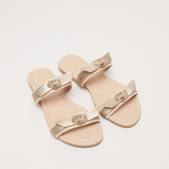 Dual Strap Slides with Knot Detail