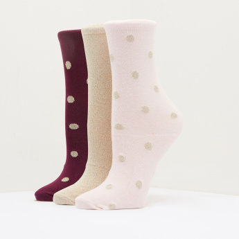 Paprika Crew Length Socks - Set of 3