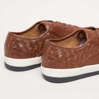 Lee Cooper Weave Pattern Walking Shoes