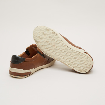 Lee Cooper Slip-On Shoes with Elasticised Gussets