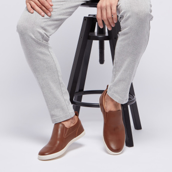 Lee Cooper Solid Canvas with Slip On Closure