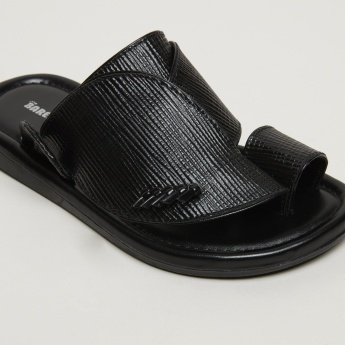 Barefeet Textured Arabic Sandals