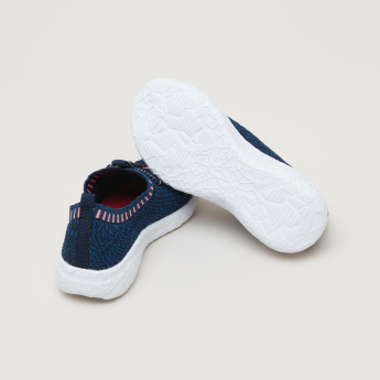 Kappa Textured Sneakers with Elasticised Collar