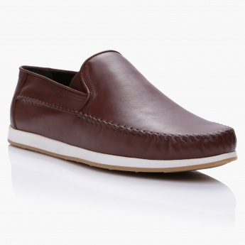 Duchini Slip-On Mocassins with Elasticised Gussets