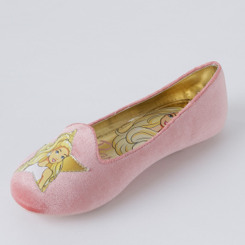 Barbie Printed Ballerina Shoes