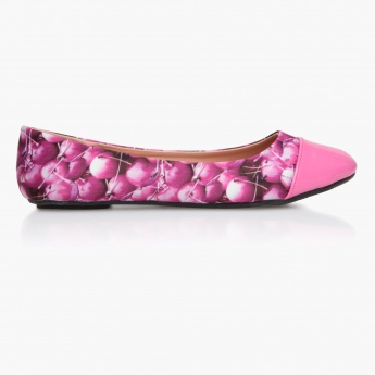 Missy Tropical Print Shoes