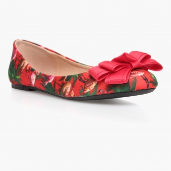 Missy Printed Ballerina Shoes