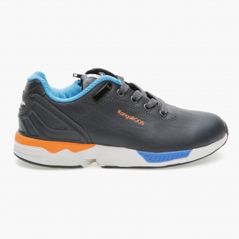 Kangaroos Textured Lace-up Sneakers
