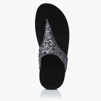 Fitflop Glittery Thong Slippers