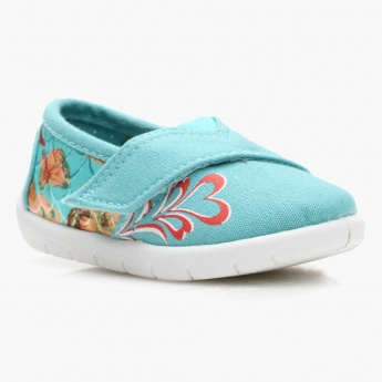 Juniors Floral Print Espadrille Shoes