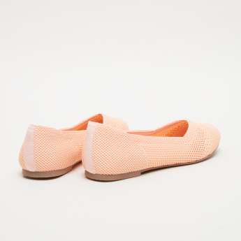 Mesh Slip-On Shoes