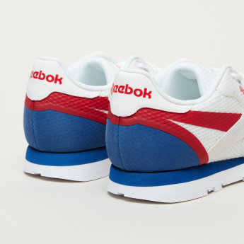 Reebok Textured Lace-Up Walking Shoes
