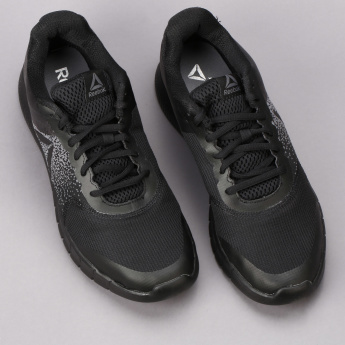 Reebok Textured Lace-Up Running Shoes