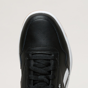 Reebok Stitch Detail Lace-Up Sneakers