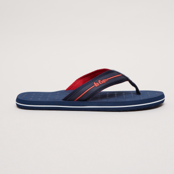 Lee Cooper Flip Flops with Logo Detail