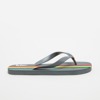 Lee Cooper Striped Thong Slippers