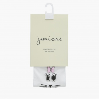 Juniors Printed Full Length Tights