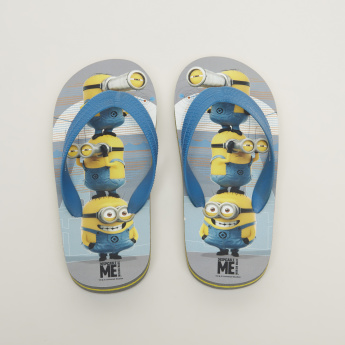 Minions Printed Flip Flops