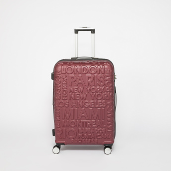 IT luggage Textured 360 Spinner Trolley Bag