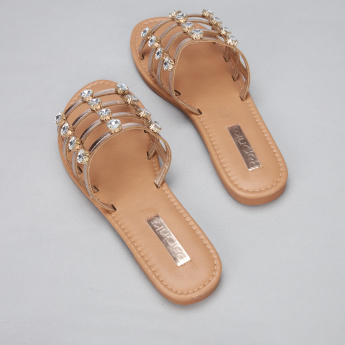 Paprika Studded Slides