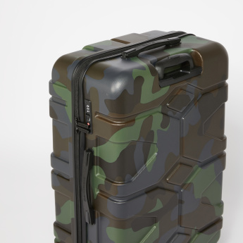 SWISSBRAND Camouflage Printed Hard Case Travelling Bag