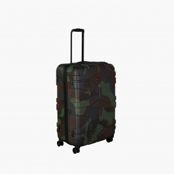 a95333eb6 Swiss Brand Printed Hard Case Trolley Bag | Multicolour | Printed