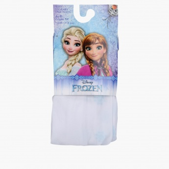 Frozen Printed Tights with Elasticised Waistband