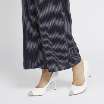 ELLE Pointed Toe Slip-On Heels