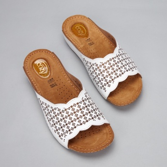 Cozy Laser Cut Detail Slides