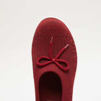 FitFlop Textured Bow Detail Shoes