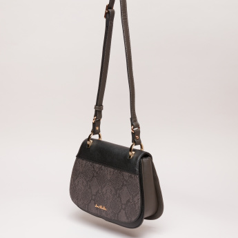Jane Shilton Textured Satchel Bag with Magnetic Snap Closure