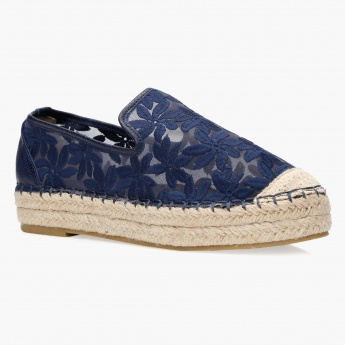 Missy Embroidered Espadrilles