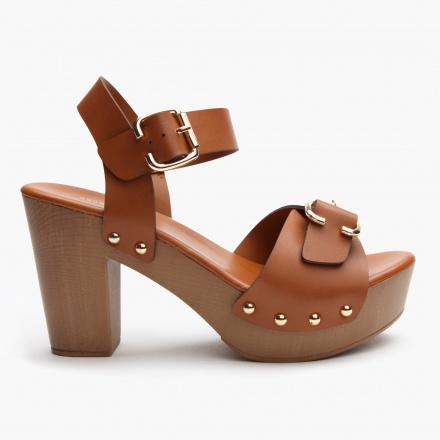 Missy Buckle Sandals