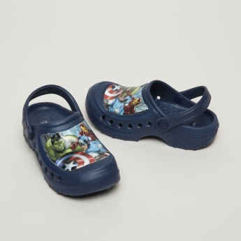 The Avengers Printed Clogs with Backstrap