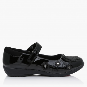 257f26720 Hello Kitty Applique Mary Jane Shoes | Black | Mary Jane