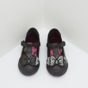 Minnie Mouse Mary Jane Shoes with Hook and Loop Closure