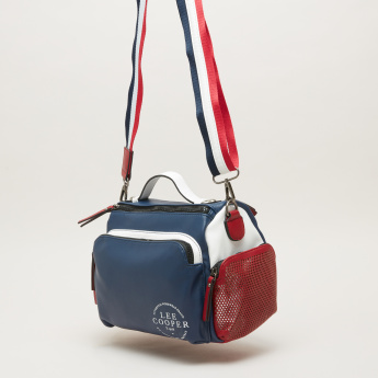 Lee Cooper Colour Block Crossbody Bag