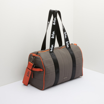 Lee Cooper Duffel Bag with Zip Closure