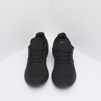 Huarache Style Running Shoes With Lace-Up Closure