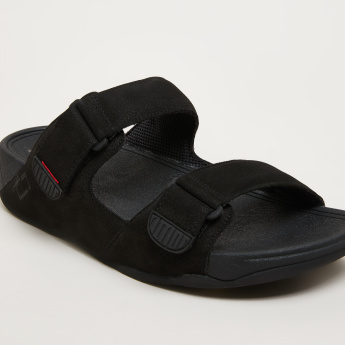 FitFlop Slides with Hook and Loop Closure