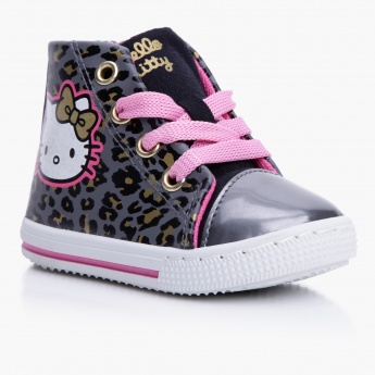 Hello Kitty High Top Shoes