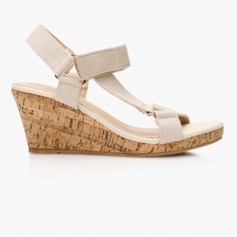 Missy Velcro Wedge Sandals