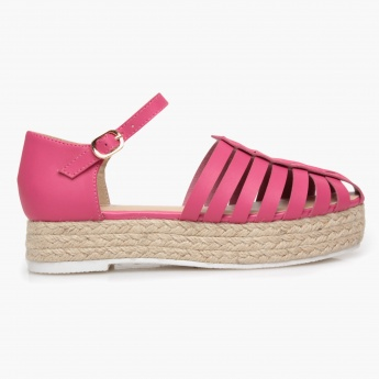 Missy Fisherman Flat Slip-On Sandals