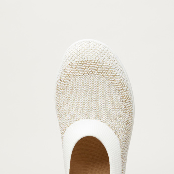 FitFlop Knitted Ballerina Shoes