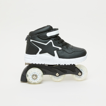 Roller Skate Shoes with Detachable Wheels