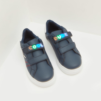 Sneakers with LED Applique Detail