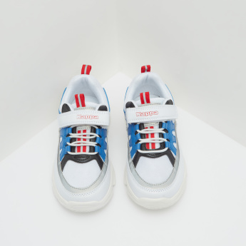 Kappa Sneakers with Hook and Loop Closure